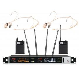 Shur AXT-118TD Портативный микрофон двойной головной