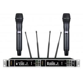 Shur AXT-220D Портативный микрофон двойной