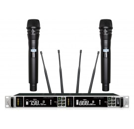 Shur AXT-220KD Портативный микрофон двойной