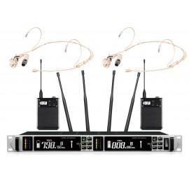Shur AXT-220TD Портативный микрофон двойной головной