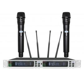 Shur AXT-2300K Портативный микрофон двойной