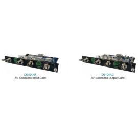 AV-карта бесшовного ввода / вывода D6104AR / D6104AC