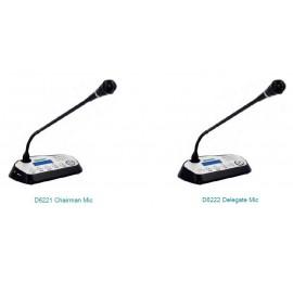 Настольный микрофон с функцией голосования D6221 / D6222