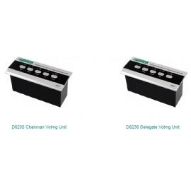 Встроенные блоки для голосования D6235 / D6236