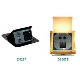 Настольная розетка для конференц-связи / Разъем для заземления конференц-связи D6267 / D6267B